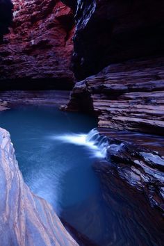 Karijini National Park 05 by Thrill-Seeker on DeviantArt Western Australia, Australia Travel, Earth 2, The Places Youll Go, Where To Go, Waterfalls, Caravan, West Coast, Beautiful Things