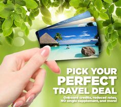 Pick your perfect Travel Deal #perfecttraveldeals