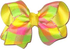 KB-366S Toddler Bright Checked, $5.95