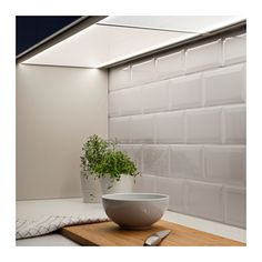 FÖRBÄTTRA LED bänkbelysning - opalvit, 80 cm - IKEA