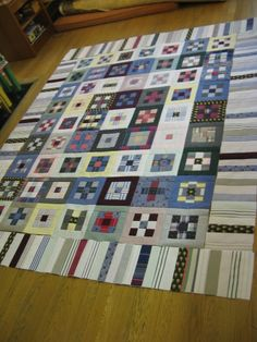 Border for Shirt Quilts
