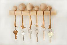 DIY Modern Wood Key Holder Tutorial