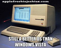 Vista really is rubbish Apple Memes, Home Appliances, House Appliances, Appliances