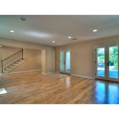 1344 Belfast Dr ❤ liked on Polyvore featuring empty rooms and rooms