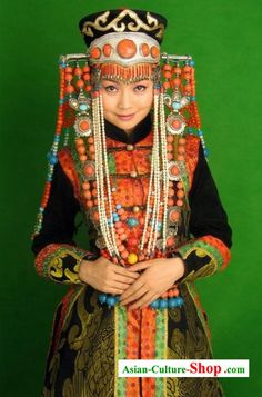 Mongolian Women Costume
