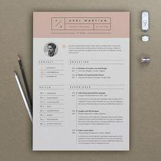 free creative resume template doc