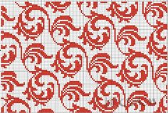 (38) Gallery.ru / Фото #5 - По старинным схемам - ksuxa24 Fair Isle Knitting Patterns, Knitting Charts, Afghan Crochet Patterns, Weaving Patterns, Knitting Stitches, Simple Cross Stitch, Cross Stitch Rose, Cross Stitch Designs, Cross Stitch Patterns
