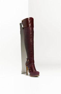 Dior 'Guetre' Over the Knee Platform Boot  $1800  shop.nordstrom.com