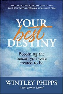 Your Best Destiny by: Wintley Phipps (#BookReview) #YourBestDestiny #CharacterNOW