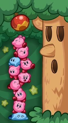 Kirby Mass Attack by *Torkirby on deviantART