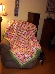 YO-YO QUILT IS DONE!! - sew-whats-new.com