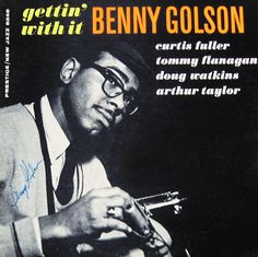Benny Golson - Gettin' With It - New Jazz NJ8248
