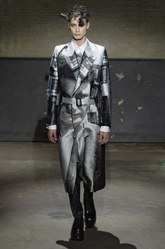 Latest from London Collections--Menswear: Alexander McQueen, AW14 #LCM