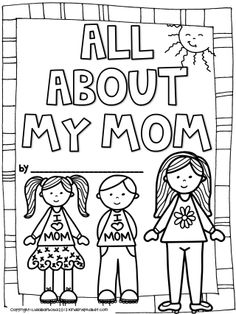 A fun mother's day journal/ booklet. Also available in Spanish