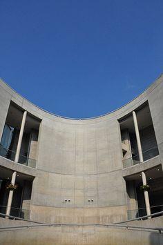 Awaji Yumebutai, Awaji, Hyogo, Japan. Work of Tadao Ando