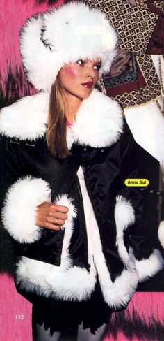 Young Kate Moss Anna Sui