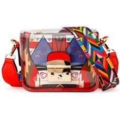 Made of water-resistant durable transparent PVC material, and premium quality PU leather material. Crossbody Shoulder Bag, Leather Crossbody Bag, Crossbody Bags, Pu Leather, Red Clutch, Fendi Bags, Tote Handbags, Fashion Bags, Purses And Bags