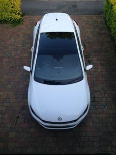 VW Volkswagen Scirocco 2.0 TSI GT DSG Automatic 2009  59  Plate White