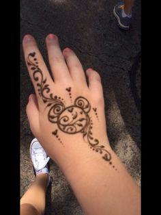 Mickey henna tattoo! Done at Animal Kingdom, Magic Kingdom, Hollywood Studios, Epcot, and Disney Springs (Downtown Disney)