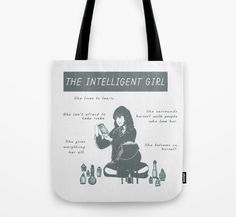A tote bag that will help you carry around all 5 million of your textbooks. Hogwarts: A History included.   23 Magical Products For The Hermione Granger In Your Life