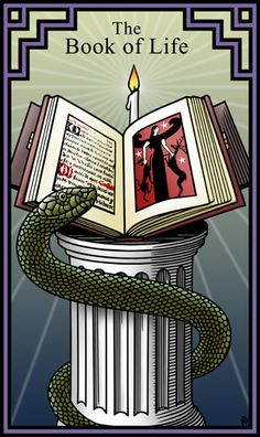 The Book of Life for the Burning Serpent Oracle by Robert M Place