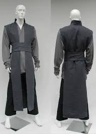 Grey Jedi robe