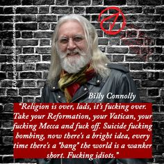 #BillyConnolly #BoondockSaints #Atheism