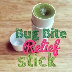 DIY Bug Bite Relief Stick