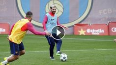 FC Barcelona training session: squad continues preparations for Manchester City: ---- FC Barcelona on Social Media Subscribe to our…
