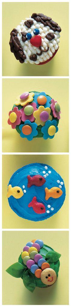 Cupcake Decorating Ideas #baking
