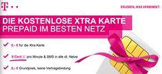 Kostenlose Telekom Xtra Prepaid Karte ohne Grundgebühr (NUR KURZE ZEIT) - http://apfeleimer.de/2013/05/kostenlose-telekom-xtra-prepaid-karte-ohne-grundgebuehr-nur-kurze-zeit