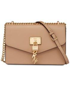Elissa Leather Chain Strap Shoulder Bag 2897884d48b53