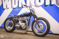 Triumph Tiger T110 restomod scrambler by Retrograde Mechanica
