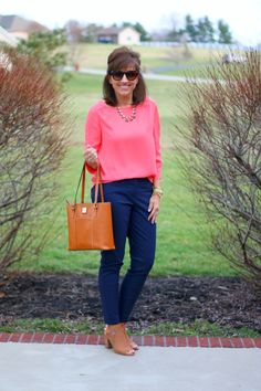 27 Days of Spring Fashion: Classic Boatneck Blouse - Grace & Beauty