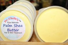 Dr. Chele's Palm Shea Butter. Available on EBay, Amazon, and Etsy.