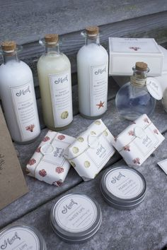 Maerl Cosmetics by Emily Zirimis, via Behance