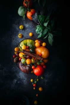Food Photography - Heirloom Tomatoes