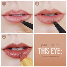 You've seen it on Kylie Jenner and Sarah Hyland earlier this month, now we're bringing back the spicy brown lip of the 1990's too! Check out what eye to pair it with and the full face shot on thebeautydepartment.com! (Or just click through on this picture!)