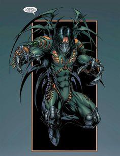 The Darkness - Marc Silvestri Comic Book Characters, Comic Books Art, Comic Art, Book Art, Image Comics, Marvel Comics, Spawn, Dark Sider, Evil Knight
