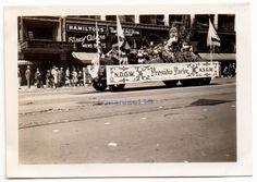 WW 2 Era Presidio Parlor Parade Float with California Bear Flags | Bear Flag Museum