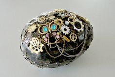Steampunk easter egg. DIY