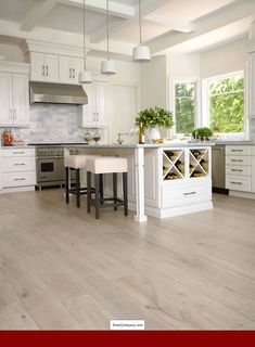 Installing hardwood floors in the house light hardwood floors kinda like this flooring.maybe too light 2 tone hardwood flooring - versailles LNIXQRD Wood Laminate Flooring, Wide Plank Flooring, Engineered Hardwood Flooring, Diy Flooring, Flooring Ideas, Maple Flooring, Parquet Flooring, Flooring Store, Modern Wood Floors
