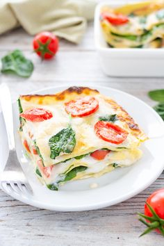LASAGNE DI PRIMAVERA, una ricetta veloce fresca e gustosissima Good Food, Yummy Food, Clean Recipes, Pain, Italian Recipes, Food And Drink, Favorite Recipes, Cooking, Prosciutto Cotto