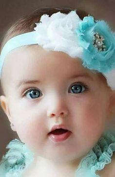 aqua and white shabby chic baby headband, pink flower headband, baby girl headband, newborn toddler headband Cool Baby, Cute Baby Boy, Cute Little Baby, Cute Babies, Baby Girls, Cute Kids Pics, Cute Baby Girl Pictures, Vintage Headbands, Baby Girl Headbands