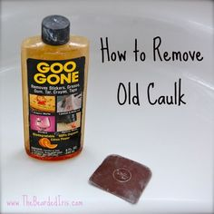Remove old caulking without scraping your shower. I wish I'd seen this last week...