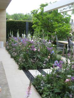 Back Garden Design, Garden Design Plans, Backyard Garden Design, Garden Landscape Design, Garden Landscaping, Back Gardens, Outdoor Gardens, Modern Gardens, Chelsea Garden