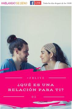 """#FBLive2 -  """"¿Qué es una relación para ti?""""  - La primera semana de este reto de Facebooks en vivo hablé de las relaciones y me hice esta pregunta ¿Qué es una relación para ti? ¿Te gustaría contarme lo que es para ti? https://www.facebook.com/hablandodesex/ Puedes ver este vídeo aquí: https://youtu.be/DvBab0qp0DE #Sexualidad #HablandoDeSexo #CharlasEnVivo"""