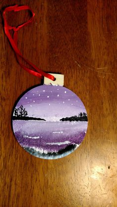 Winter Fun, Cabin, Christmas Ornaments, Holiday Decor, Painting, Home Decor, Decoration Home, Room Decor, Cabins