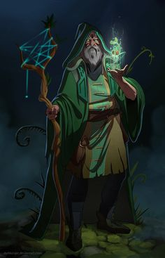 The Druid by DarkKenjie