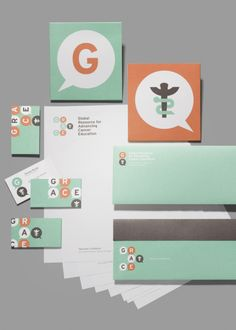 Global Resource for Advancing Cancer Education branding design